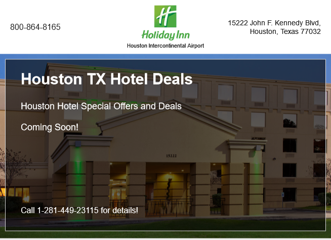 Houston TX Hotel Deals